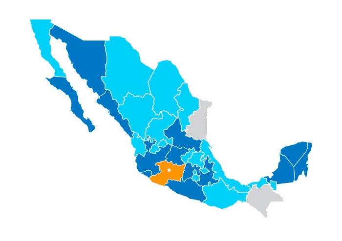 Grupo Merza en la República Mexicana